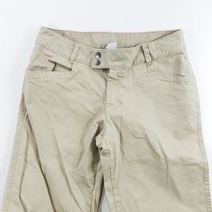 The North Face Khaki Casual Straight Leg Pants